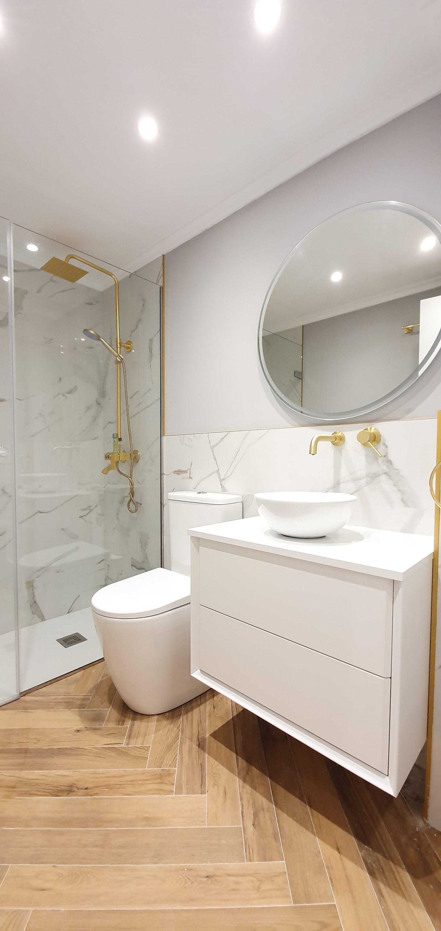 Reforma de baños en San Sebastián